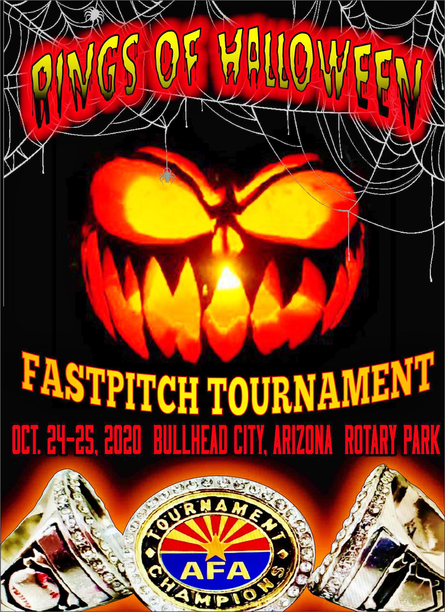 Halloween Az 2020 2020 Rings of Halloween Fastpitch Tournament – 10U/12U/14U/16U/18U